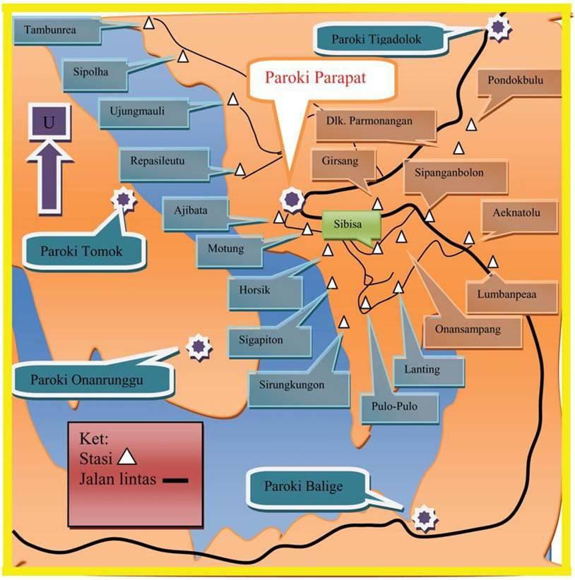 Peta Pelayanan