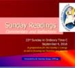 23rd Sunday  C