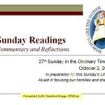 27th Sunday C