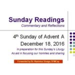 4th Advent A